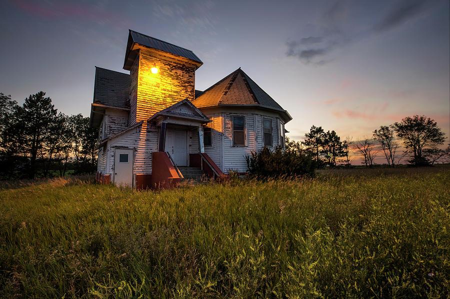 Union Church Photograph - Union  by Aaron J Groen