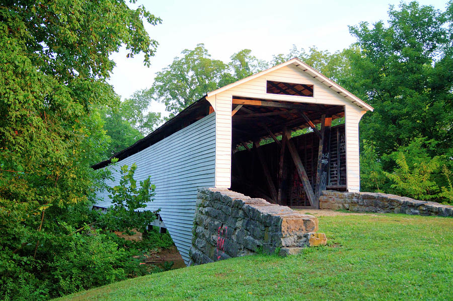 Union Covered Bridge by Cricket Hackmann