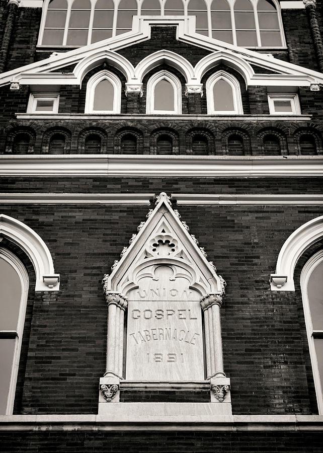 Nashville Photograph - Union Gospel Tabernacle - Aka Ryman Auditorium by Stephen Stookey