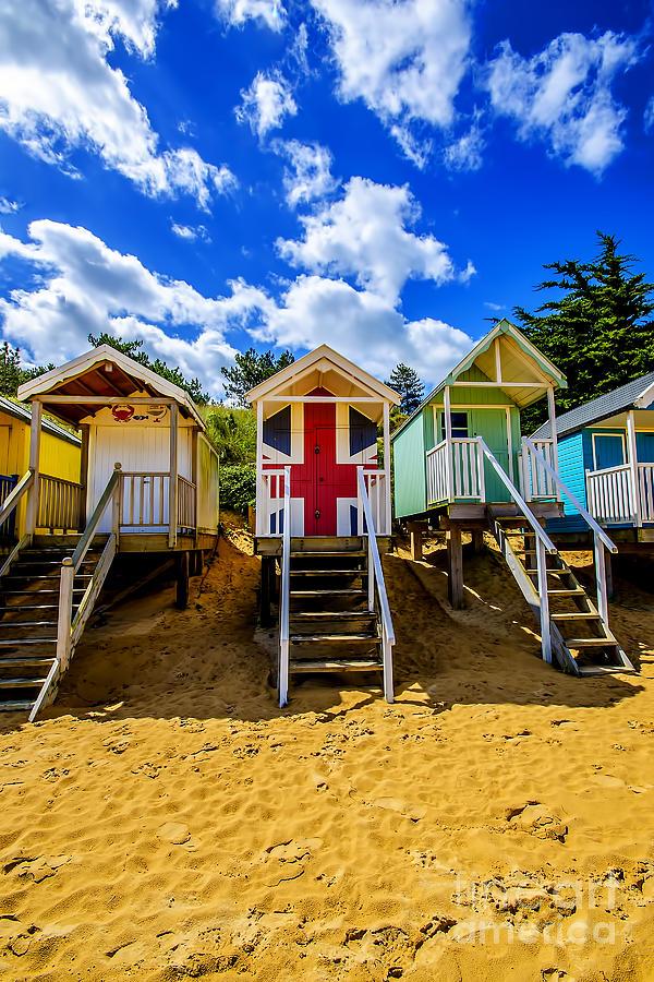 Union Jack Beach Hut 2 Photograph
