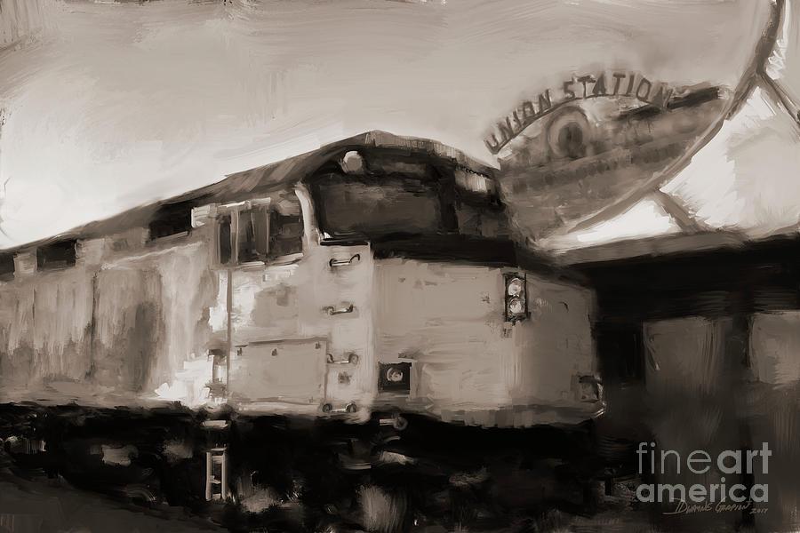 Union Station Train by Dwayne Glapion