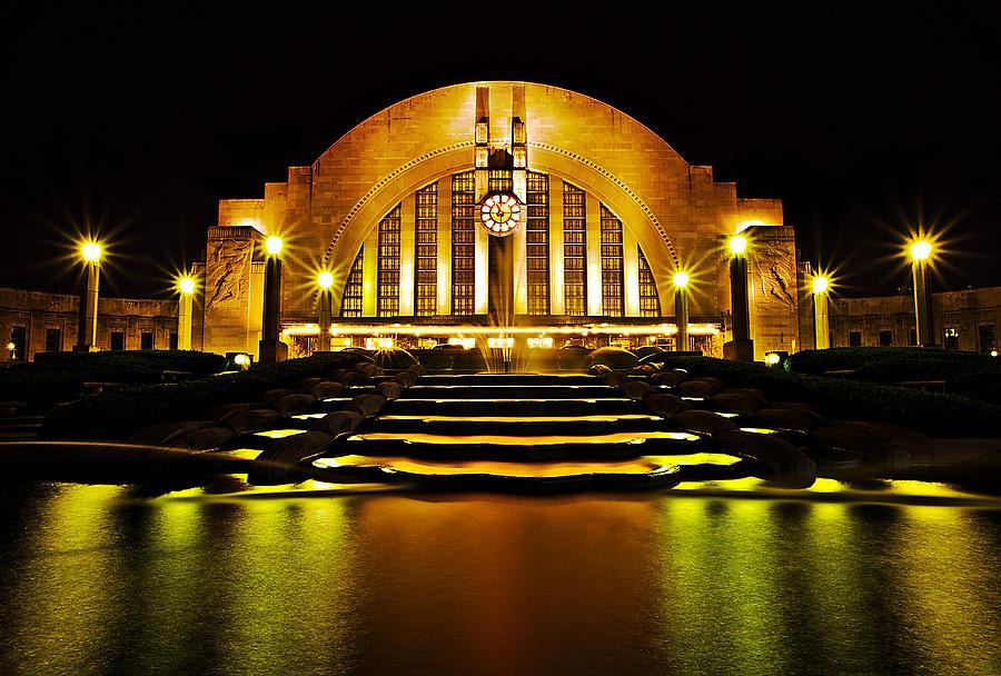 Union Terminal Photograph - Union Terminal by Keith Allen