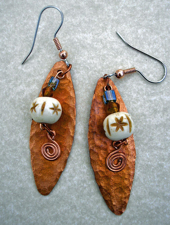 Earrings Jewelry - Unique And Funky Earrings by Angie DElia