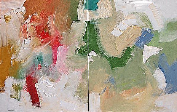 Original Painting - United by Linda Monfort