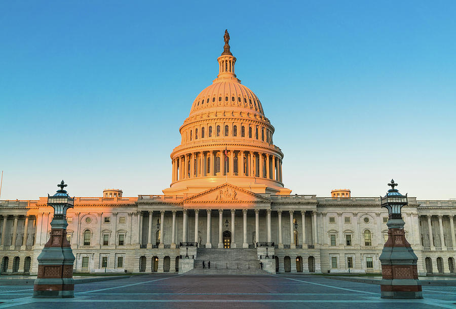 District Of Columbia Photograph - United States Capitol  by Larry Marshall