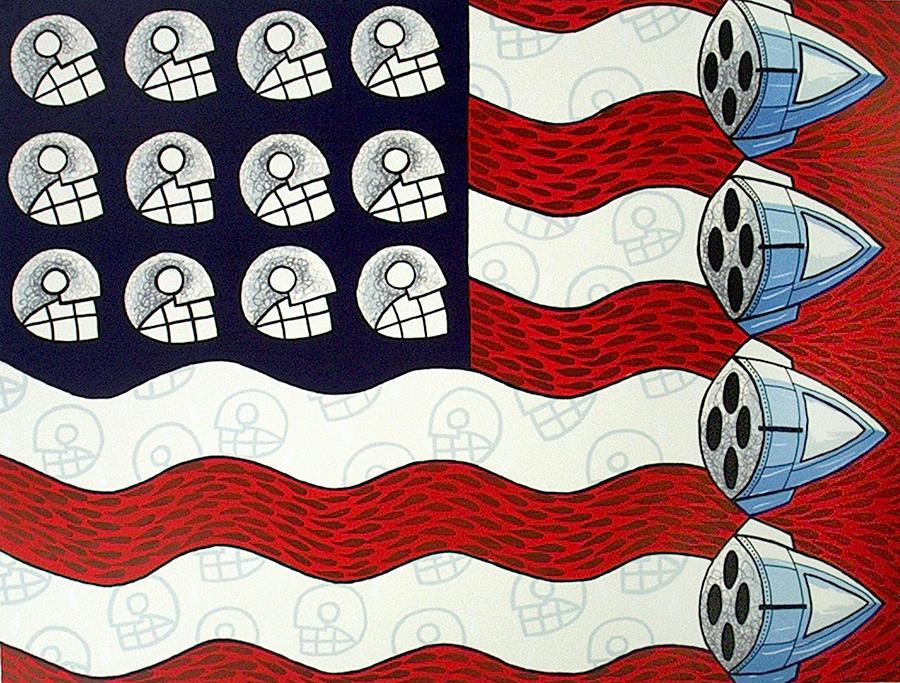 Serie Print - United States La Muerte by Luis Valderas
