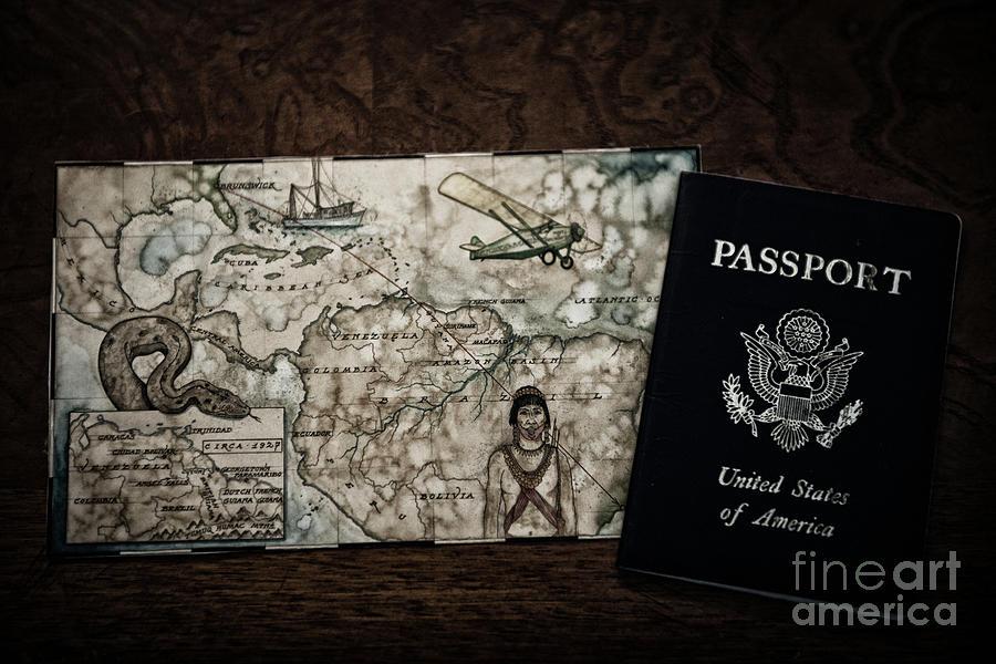 United States Of America Passport Photograph