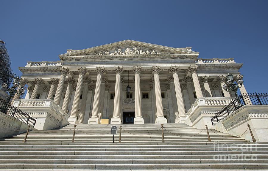 United States Photograph - United States Senate Ceremony Door by David Bearden
