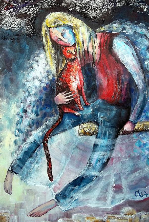 Hold Painting - Unity by Elisheva Nesis