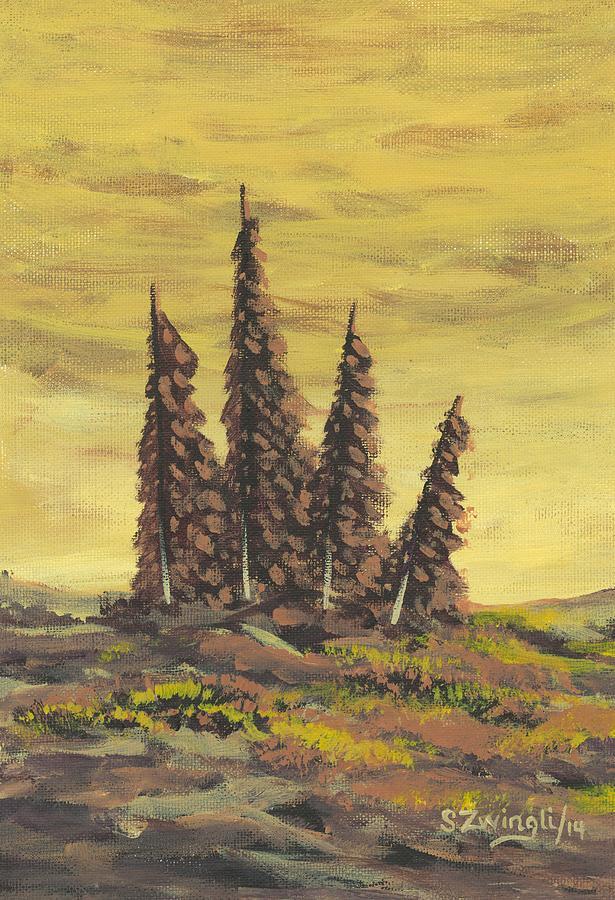 Modern Painting - Unity by Shelley Zwingli
