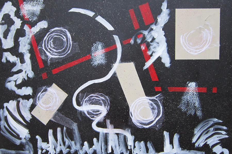 Abstract Painting - Universal by Marita McVeigh
