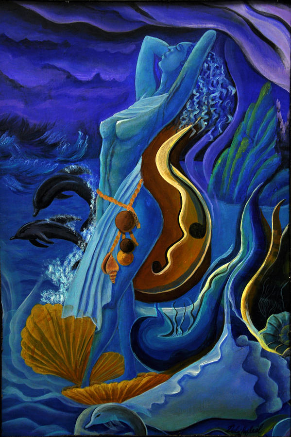 Universal Spirit Painting by Darly Raphael