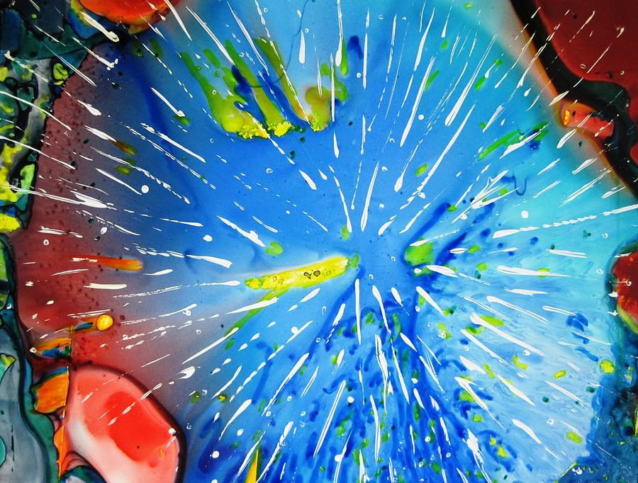 Space Painting - Universe Three by David Raderstorf