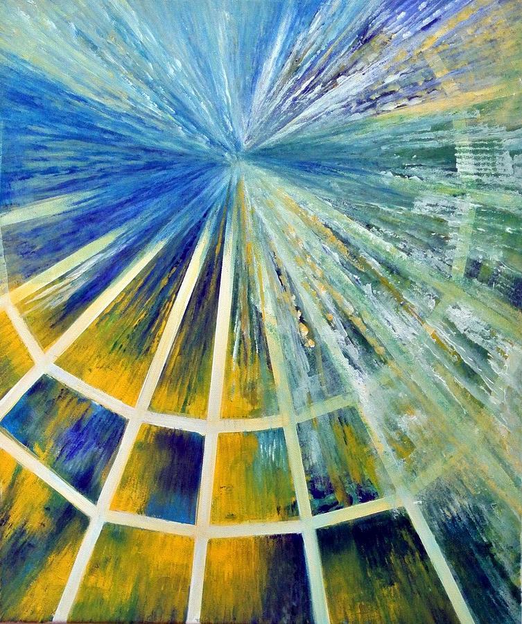 Abstract Painting - Universe by Upasana Kedia