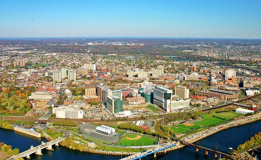 University City Photograph - University City Philadelphia Pennsylvania by Duncan Pearson