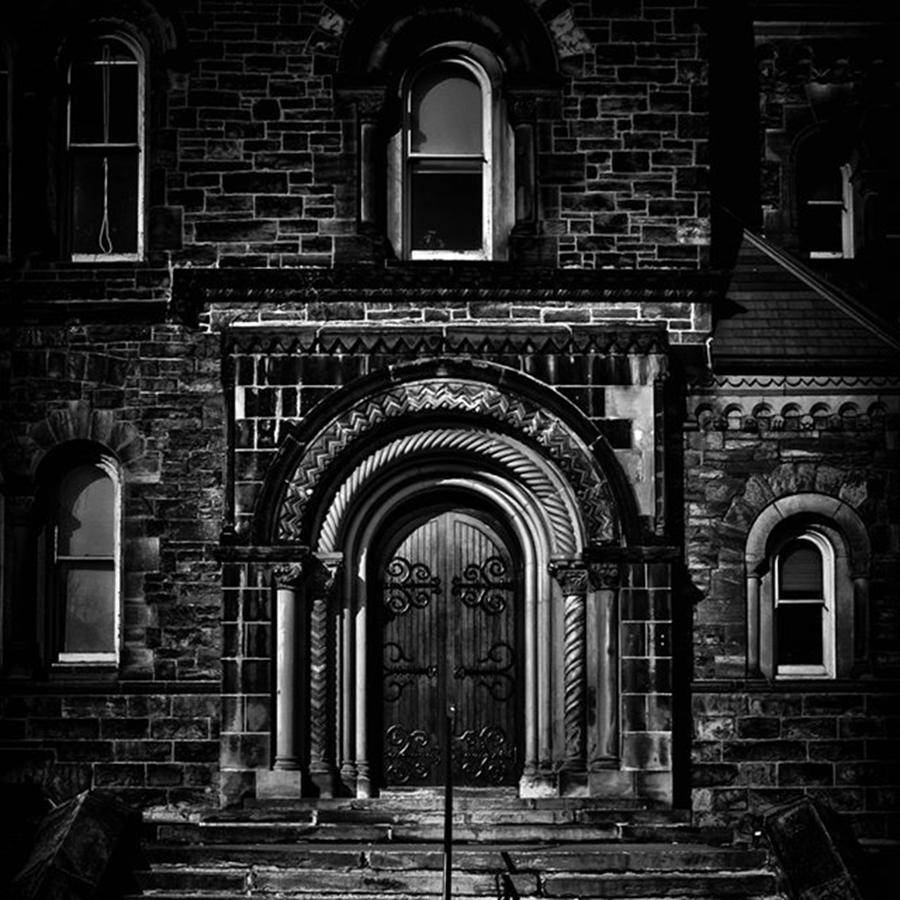 Architecture Photograph - University College East by Brian Carson