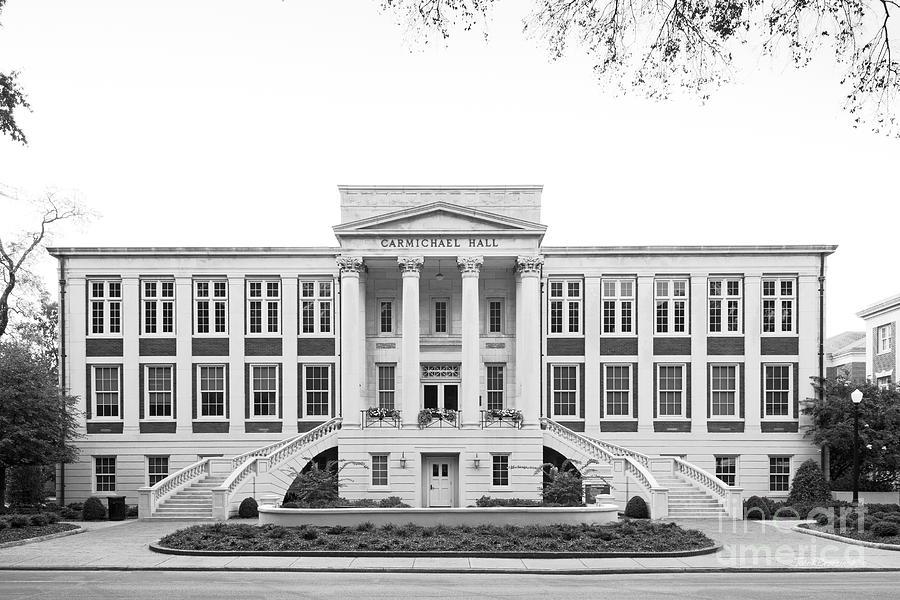 Alabama Photograph - University of Alabama Carmichael Hall by University Icons