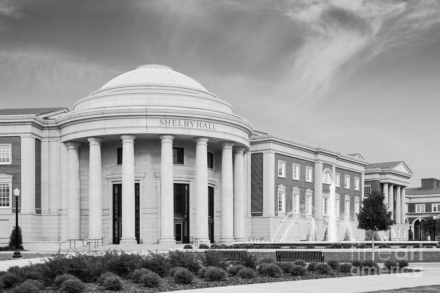 Alabama Photograph - University of Alabama Shelby Hall by University Icons