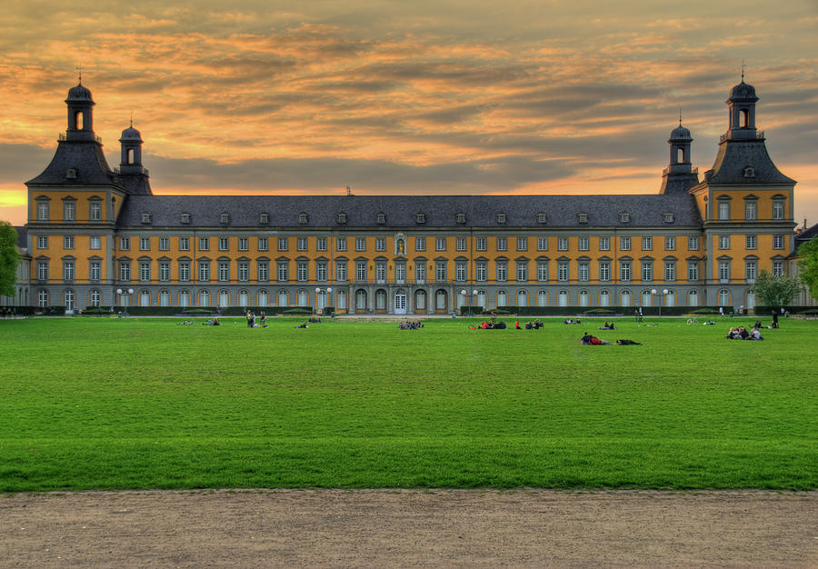 University Of Bonn Photograph - University Of Bonn by Andre Distel
