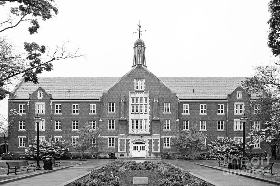 Connecticut Photograph - University Of Connecticut Whitney Hall by University Icons