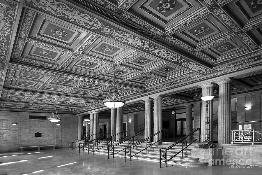 Ann Arbor Photograph - University Of Michigan Angell Hall by University Icons