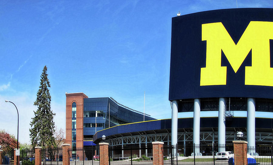 University Of Michigan Stadium Photograph