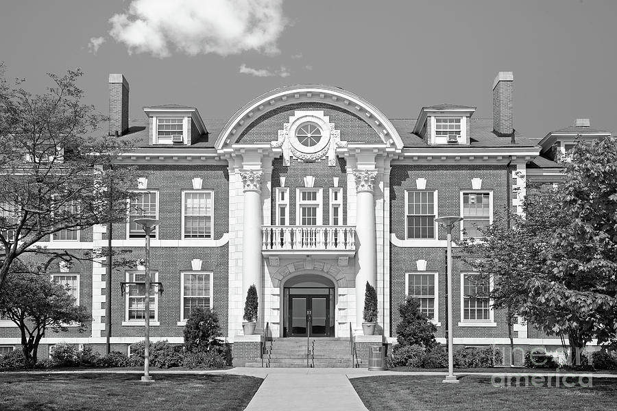 Maxcy Hall Photograph - University Of New Haven Maxcy Hall by University Icons