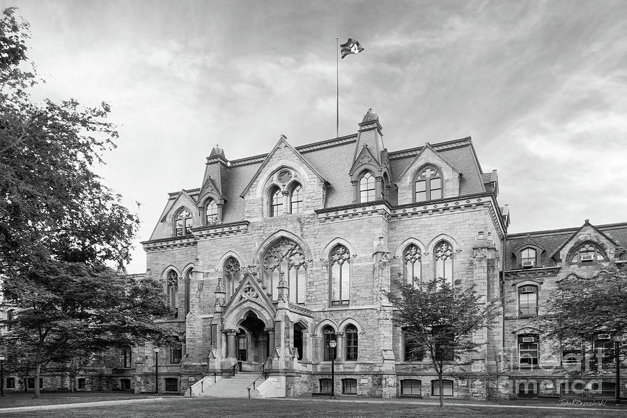University Of Pennsylvania Photograph - University Of Pennsylvania College Hall by University Icons