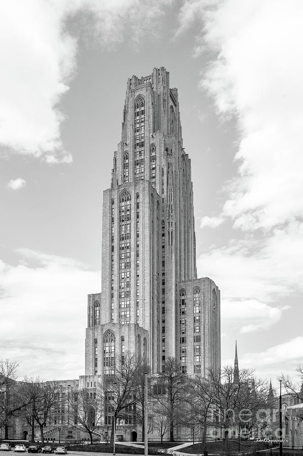 Aau Photograph - University Of Pittsburgh Cathedral Of Learning by University Icons