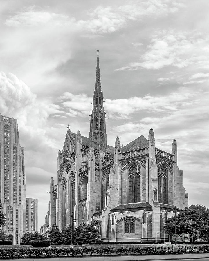 Aau Photograph - University Of Pittsburgh Heinz Memorial Chapel by University Icons