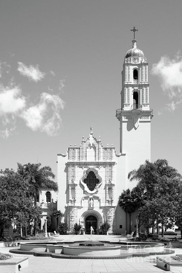 California Photograph - University Of San Diego The Church Of The Immaculata by University Icons
