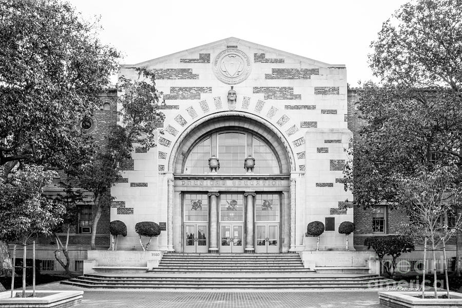 American Photograph - University Of Southern California Physical Ed by University Icons