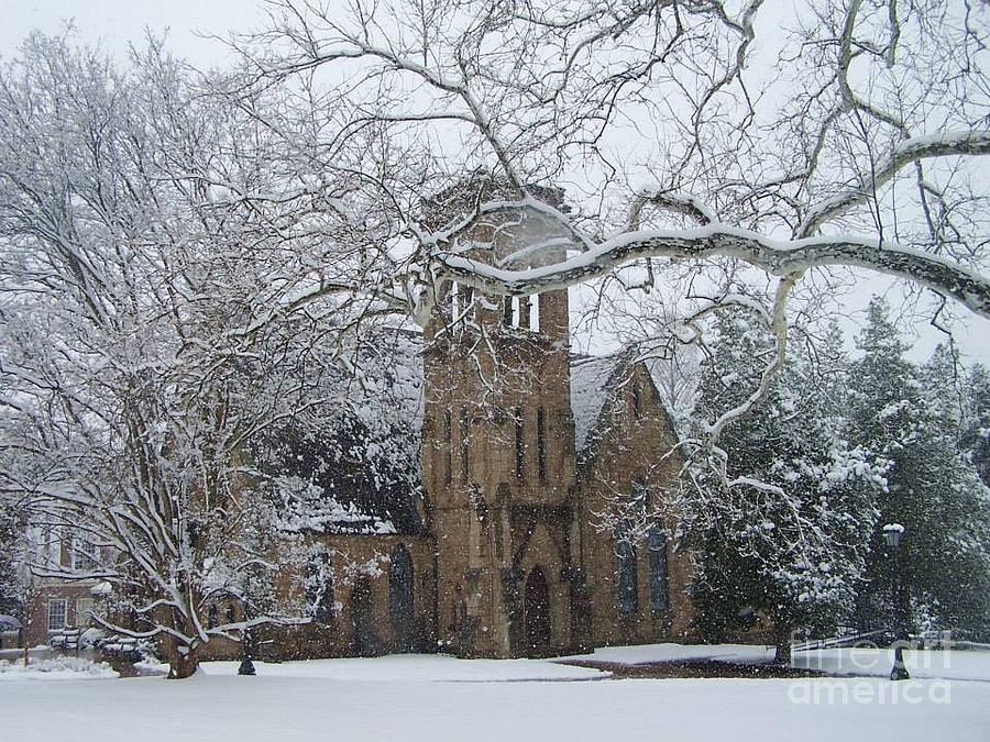 University Of Virginia Chapel Photograph - University Of Virginia Chapel by Charlotte Gray