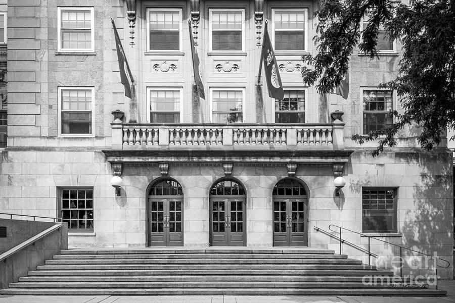 Aau Photograph - University Of Wisconsin Madison Memorial Union by University Icons