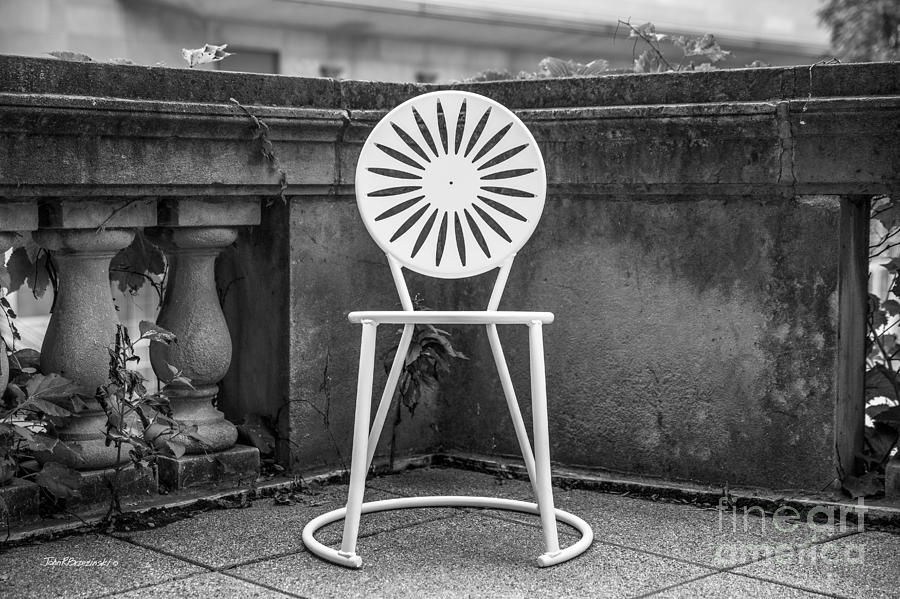 Aau Photograph - University Of Wisconsin Madison Terrace Chair by University Icons