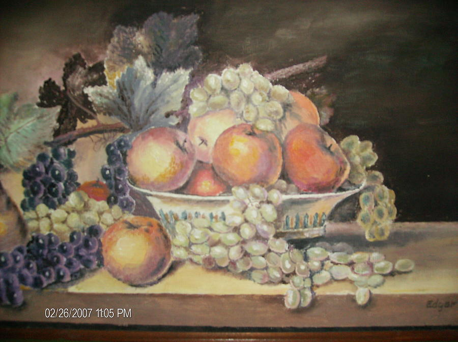 Fruit Painting - Unknown by Anne-Elizabeth Whiteway
