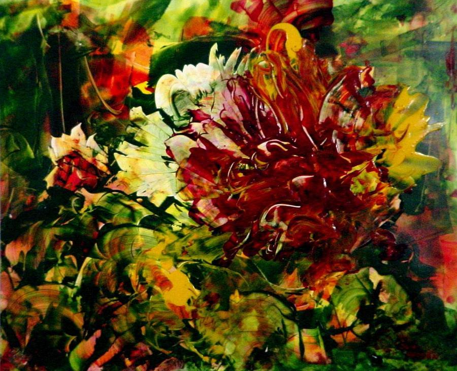 Unknown Flower by Sue Nelson