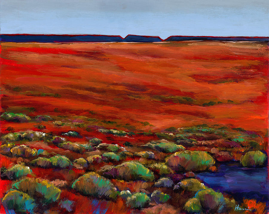 Southwestern Landscape Painting - Unknown Plateau by Johnathan Harris