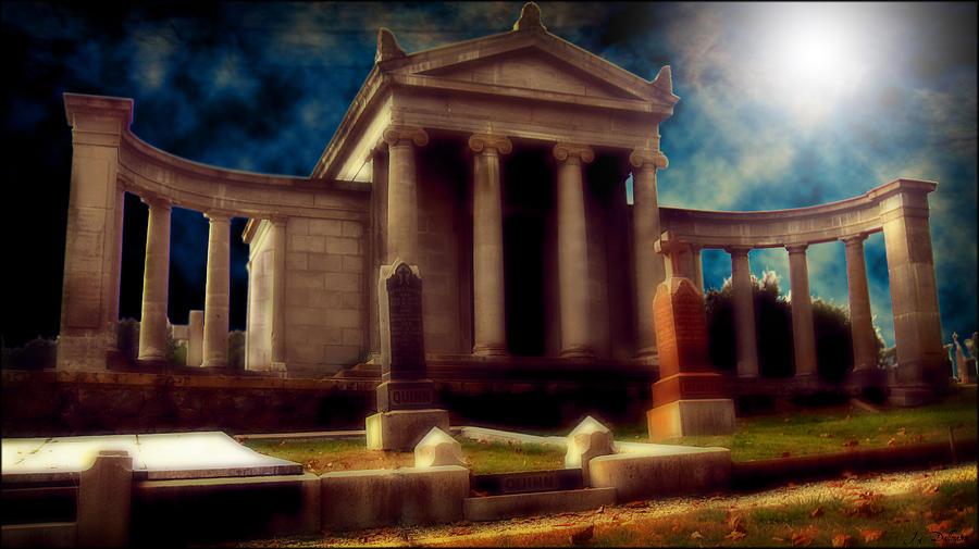 Unkown Mausoleum Digital Art by Joe Dallmann