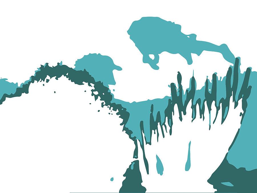 Graphic Design Digital Art - Unless Scuba by Poster Book