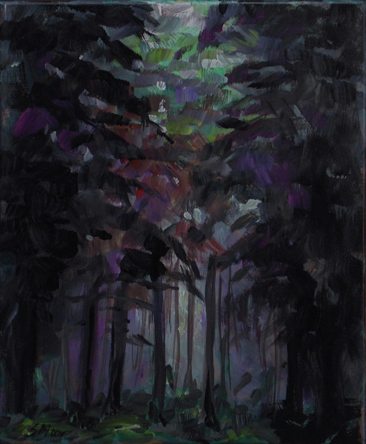 Forest Painting - Unless by Susan Moore