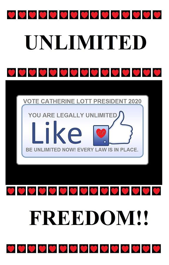 Unlimited Freedom by Catherine Lott