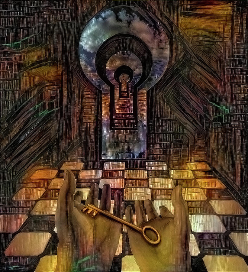 Unlock Knowledge Digital Art