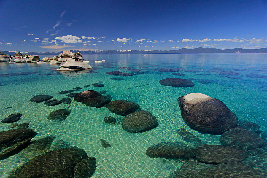 Lake Tahoe Photograph - Unmatched Clarity by Sean Sarsfield