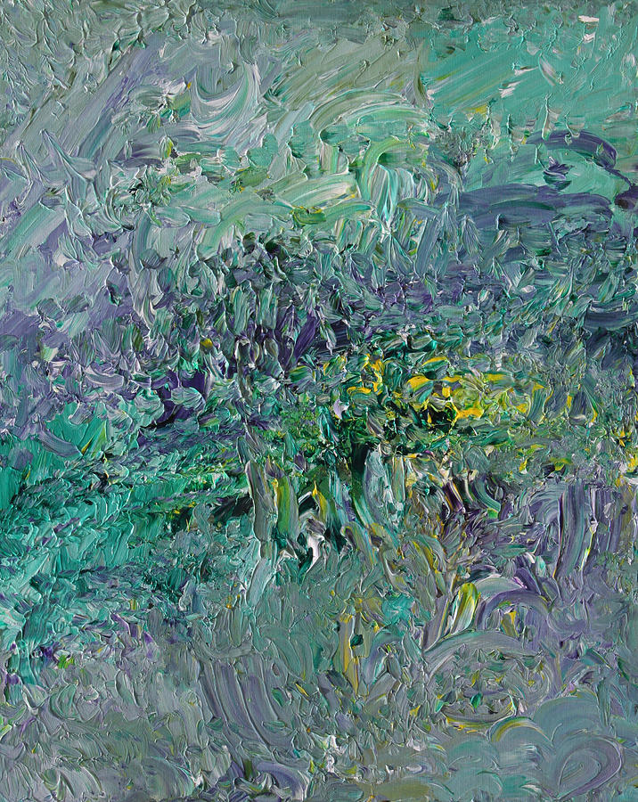 Abstract Painting - Blind Giverny by Ralph White