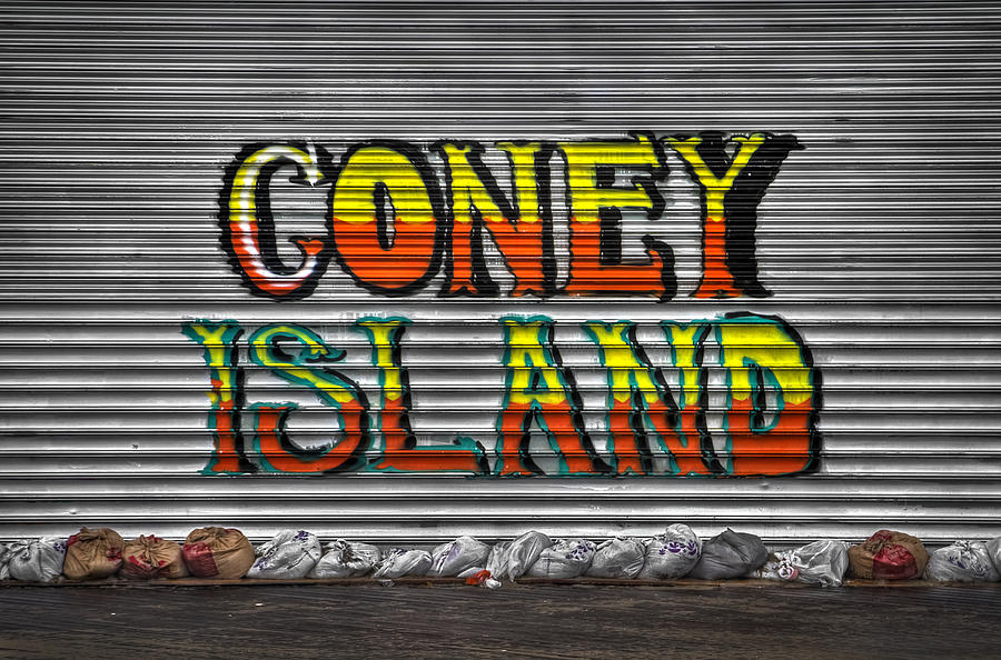 Coney Island Photograph - Unsinkable by Evelina Kremsdorf
