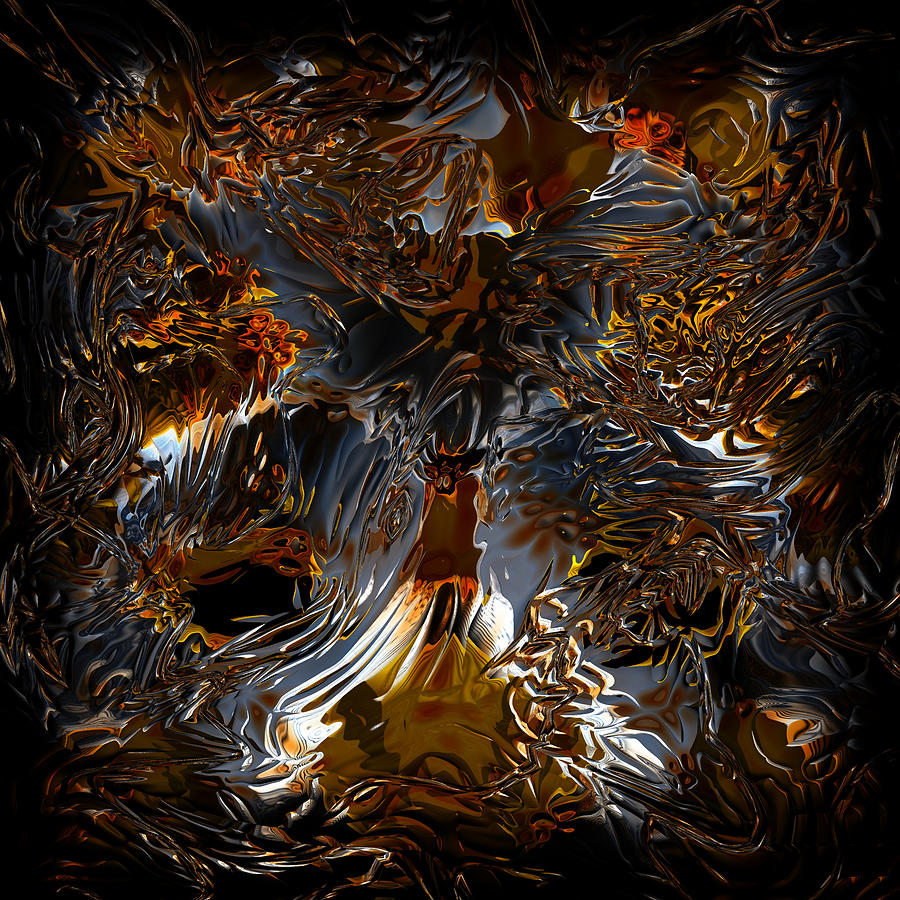 Abstract Digital Art - Unsong by Vadim Epstein