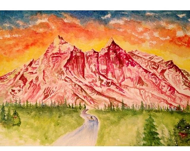 Himalayas Painting - Unsuspecting Victim  by Eva Lu
