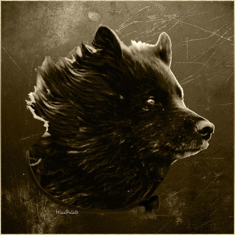 Dogs Digital Art - Untamed by Asok Mukhopadhyay