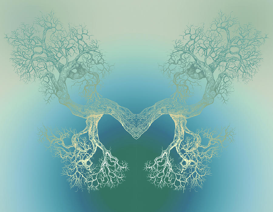 Tree Digital Art - Until It Makes You See Tree9 by Brian Kirchner